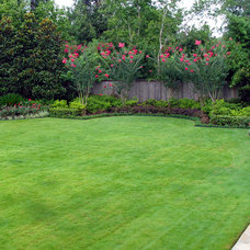 Mediterranean Landscape by David Morello Garden Enterprises, Inc.