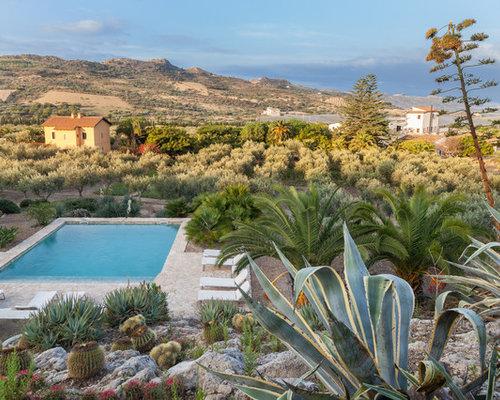 Foto e idee per giardini giardino mediterraneo - Giardini mediterranei ...