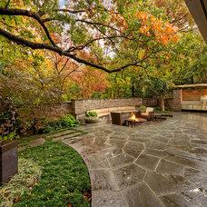 Midcentury Landscape by Harold Leidner Landscape Architects