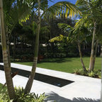Pebble Installations Modern Landscape Miami By