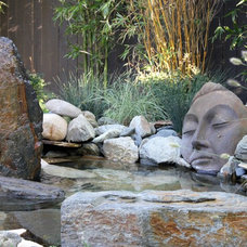 Asian Landscape by Michael Glassman & Associates