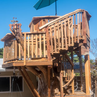 This is an example of a craftsman outdoor playset in San Francisco.
