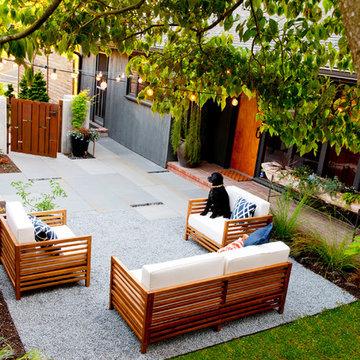 Mid Century Courtyard Remodel