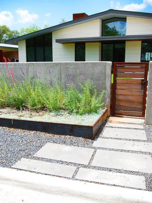 Midcentury Garden Design Ideas Renovations Photos with