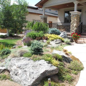 Minimal Lawn  Xeriscape Garden