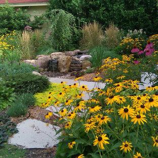 ミネアポリスのコンテンポラリースタイルのおしゃれな庭の写真