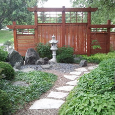 Asian Landscape by Blue Earth Gardening, Inc