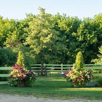 Minnesota Country Estate Garden