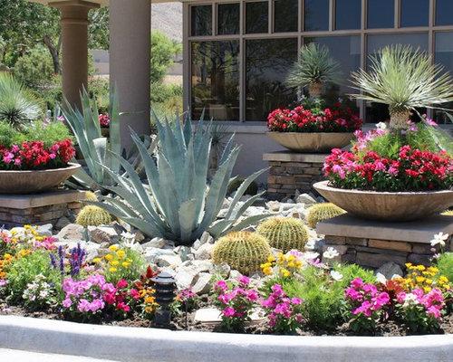 Ext rieur avec des plantes en pots sud ouest am ricain los for Plantes et jardin exterieur