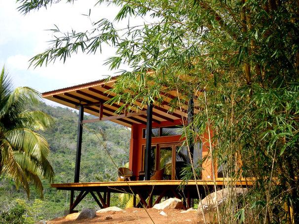 Tropical Exterior by Fivedot Design Build