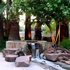 Mediterranean Landscape by Randy Purnel Landscape Architect