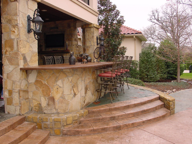 Mediterranean Landscape by Angler Remodeling and Exteriors