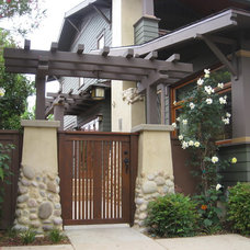 craftsman landscape by Jeffrey Rule, Inc.
