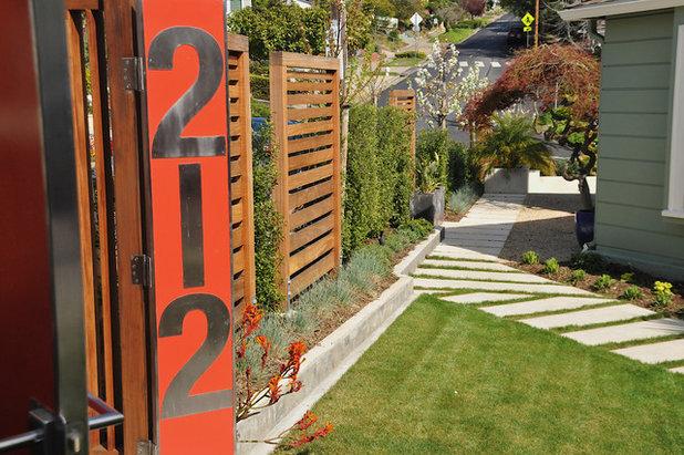 Moderne Jardin by AFLA-Landscape Design