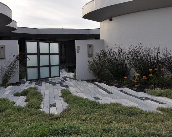 permeable paving   houzz - Permeable Patio Ideas