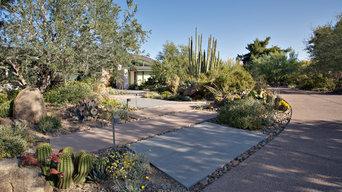 Modern Botanical Garden | Front Entry