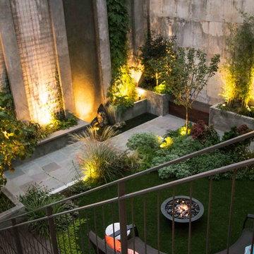 Modern Brooklyn Garden