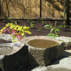 Modern Cottage Shade Garden With Native Plants Amp And Stone