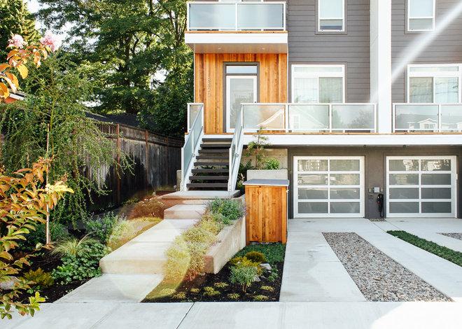 Modern Landscape by Pistils Landscape Design + Build