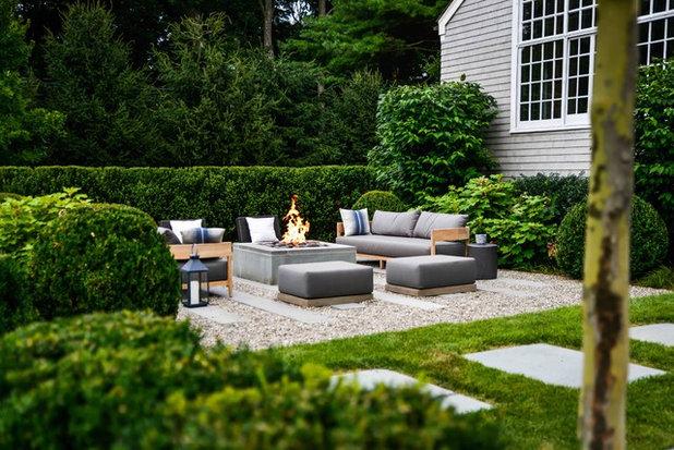 Farmhouse Landscape by Rosalia Sanni Design LLC