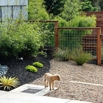 Modern Fencing For A Modern Garden