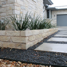 Modern Landscape by GreenScapes Landscaping & Pools
