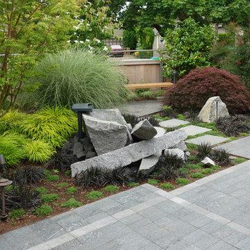 Modern Industrial Japanese Garden