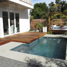 Tropical Pool by Falling Waters Landscape