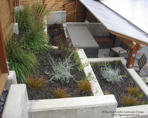 Modern landscape in mill valley ca for Garden design mill valley
