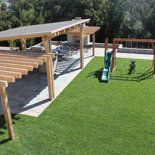 Idee per un giardino minimalista con un focolare