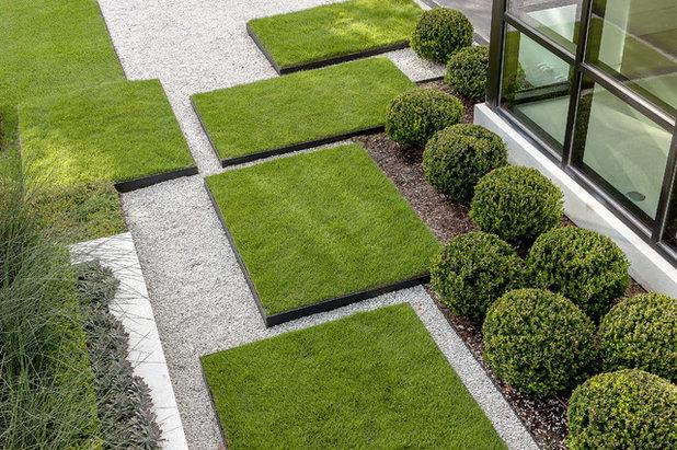 13 spunti per usare la ghiaia in giardino in modo innovativo - Piccolo Giardino Con Ghiaia