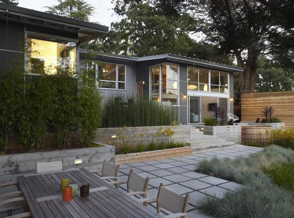 Modern Landscape by Allwood Construction Inc