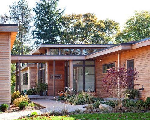 Modern Cedar Siding Home Design Ideas Pictures Remodel