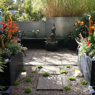 Modern Tropical Courtyard
