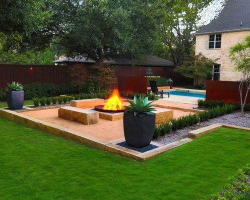 Modern Dallas Landscaping Ideas Amp Design Photos Houzz