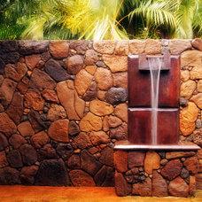 Tropical Landscape by bobby vilas design
