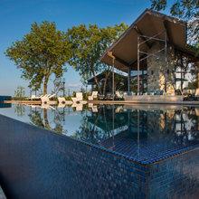 Glass Tile Pools