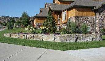 Montana Modern Retaining Wall