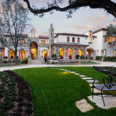 Mediterranean Exterior by Lindsey Adams Construction Inc.