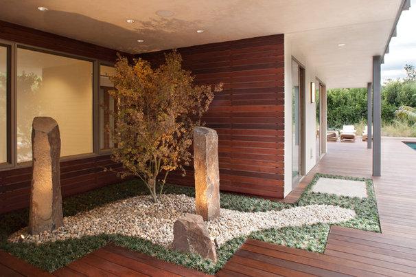 Contemporary Landscape by Maienza - Wilson Interior Design + Architecture