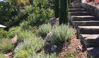Palos Verdes Landscape Designs Ranch Home on dry river bed landscape design, dry creek bed garden design, santa barbara landscape design,