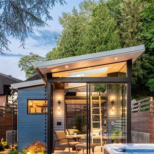 Moderner Garten in Seattle