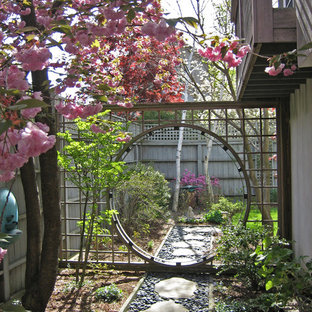 Design ideas for an asian landscaping in Boston.