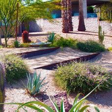 Contemporary Landscape Moreland Residence