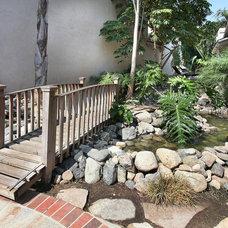 Tropical Landscape by Jeff Pittman Homes