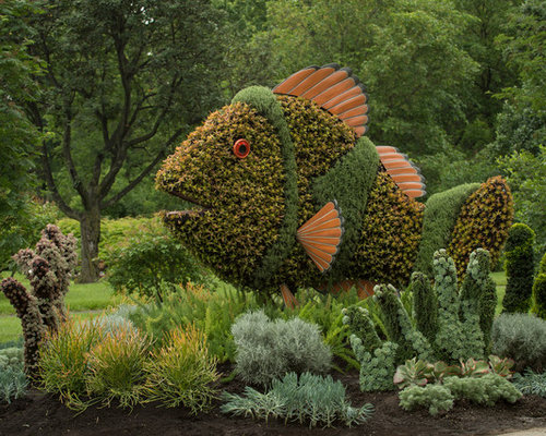 Fish Garden Sculpture Ideas Pictures Remodel and Decor