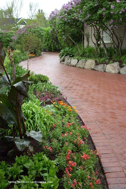 Contemporary Landscape by Calgary Landscaping Service