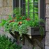Цветы за окном квартиры: 9 готовых схем