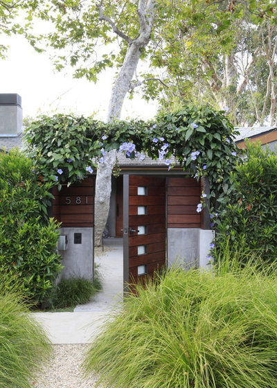 Contemporary Garden by MTLA- Mark Tessier Landscape Architecture