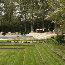 Traditional Landscape by MTLA- Mark Tessier Landscape Architecture